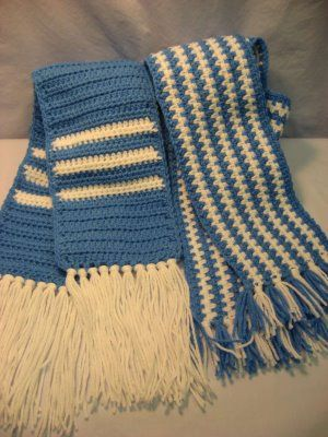 Hooked On Needles Crocheted Scarves For Special Olympics Crochet Mens Scarf Crochet Scarf Knitting