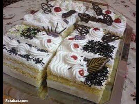 طريقة عمل الجاتوه Desserts Food Cake