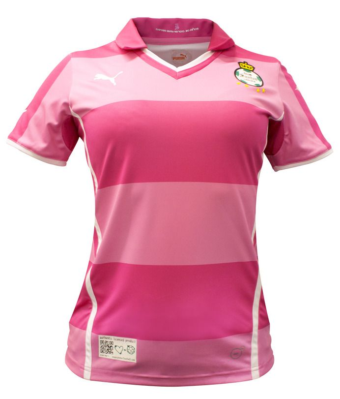competitive price e9097 32e8a Santos Laguna 2013 Project Pink Home Shirt | Sport Shirts ...