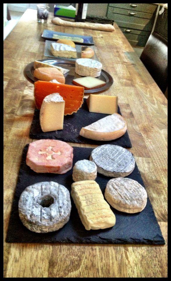 Casellula Cheese & Wine Cafe, New York City.  Cheese Tasting ~ Selection de Rodolphe le Meunier chez Rodolphe