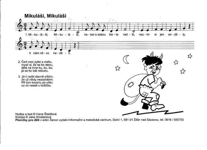 Mikuláši | Kids songs, Preschool, Kids
