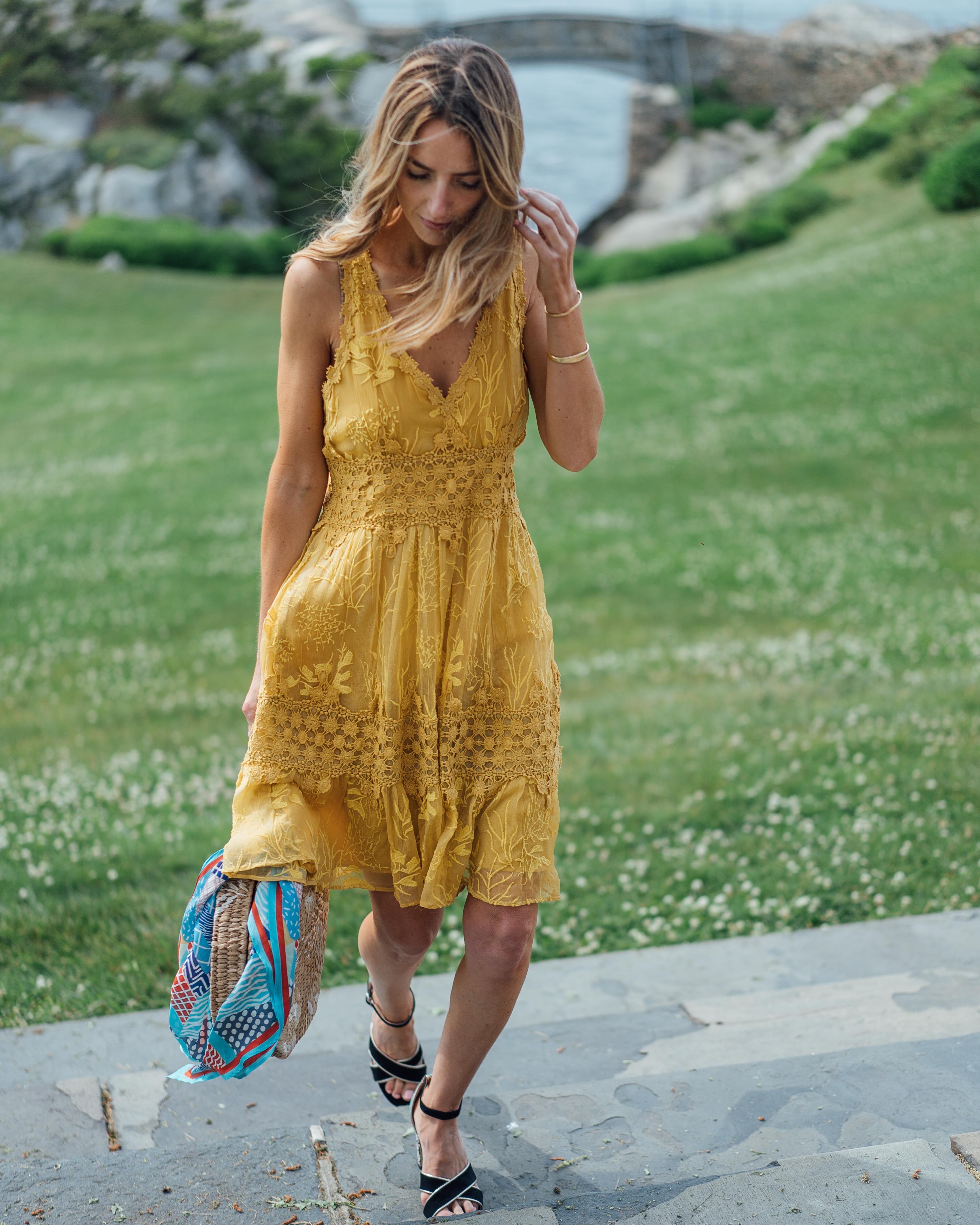05d53fb2fc7 Veronica Lace Midi Dress in 2019
