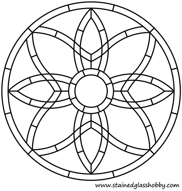 Celtic knot round panel stained glass design | Arte | Pinterest ...