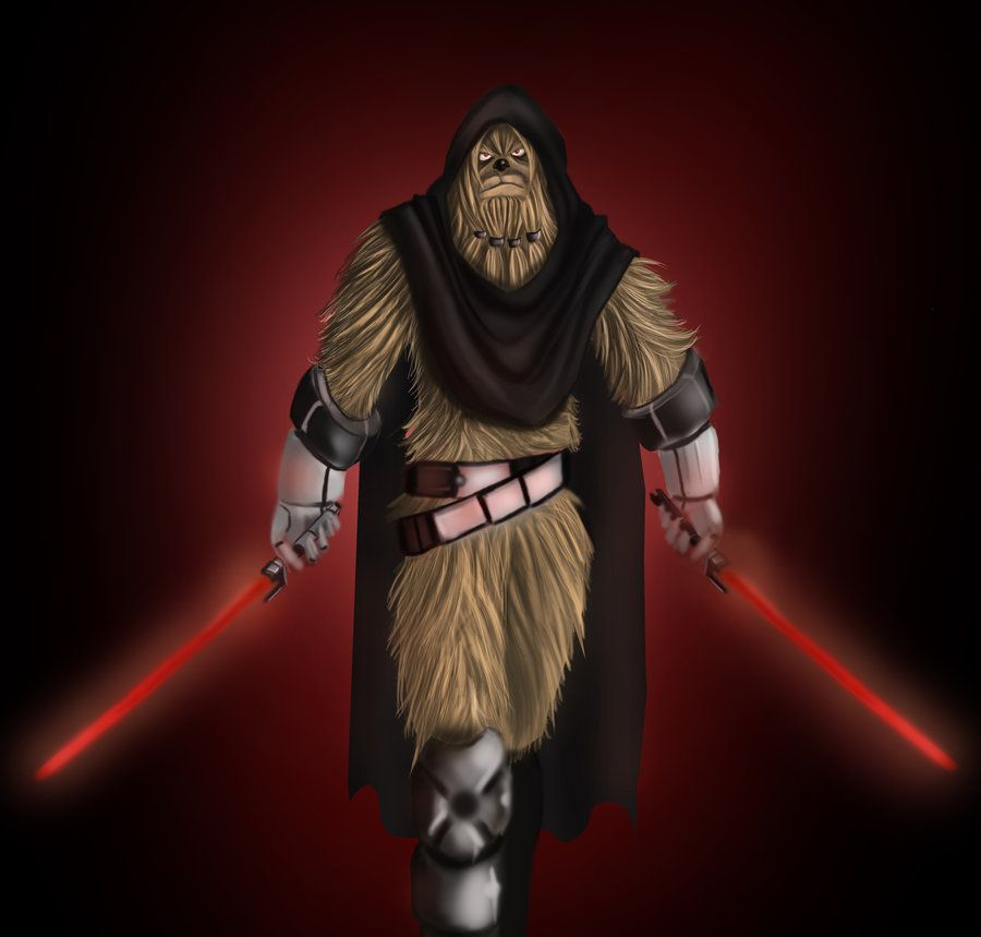 1Sith Wookiee by RogueDragon on DeviantArt