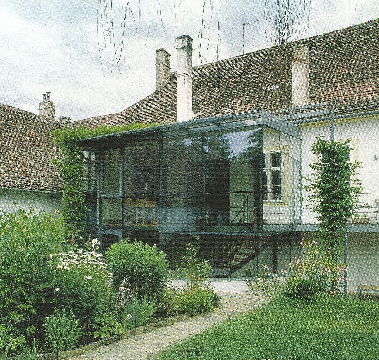 Wintergarten neu zu Bauernhaus alt | Wohnen - Sanierungen bei ...