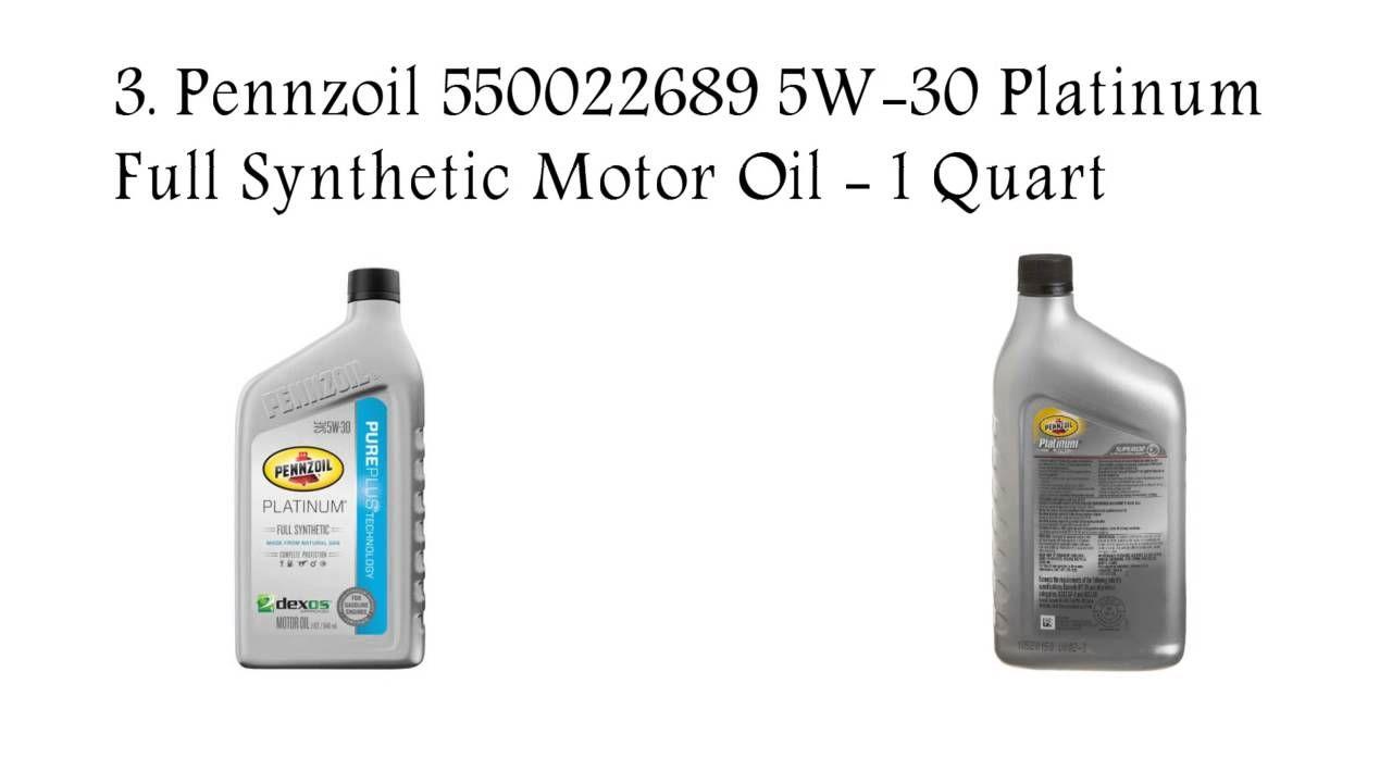 Top 5 best synthetic motor oil reviews 2016 best car oil brand best oil