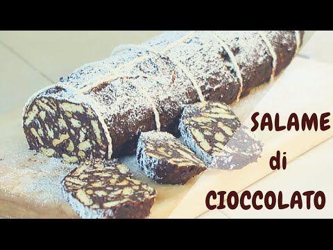 Salame Di Ciocciolato Fatto In Casa Da Benedetta Food Video