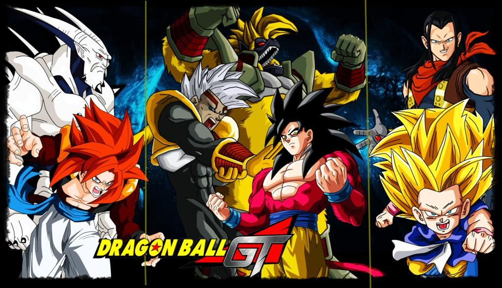 Dragon Ball GT Dragon ball gt, Dragon ball y Dragones