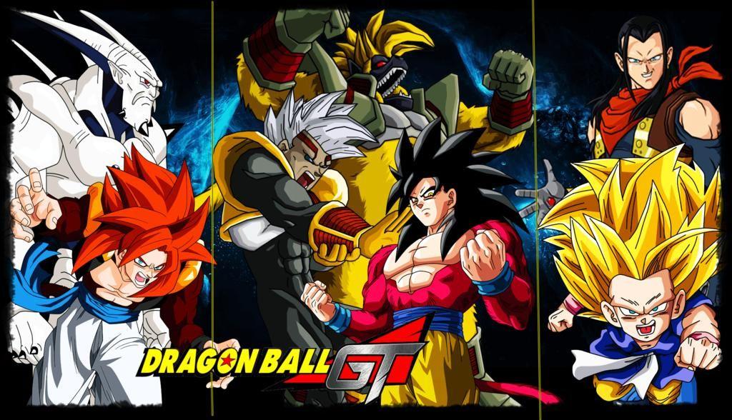 Dragon Ball GT Dragon ball gt, Dragon ball y Dragones