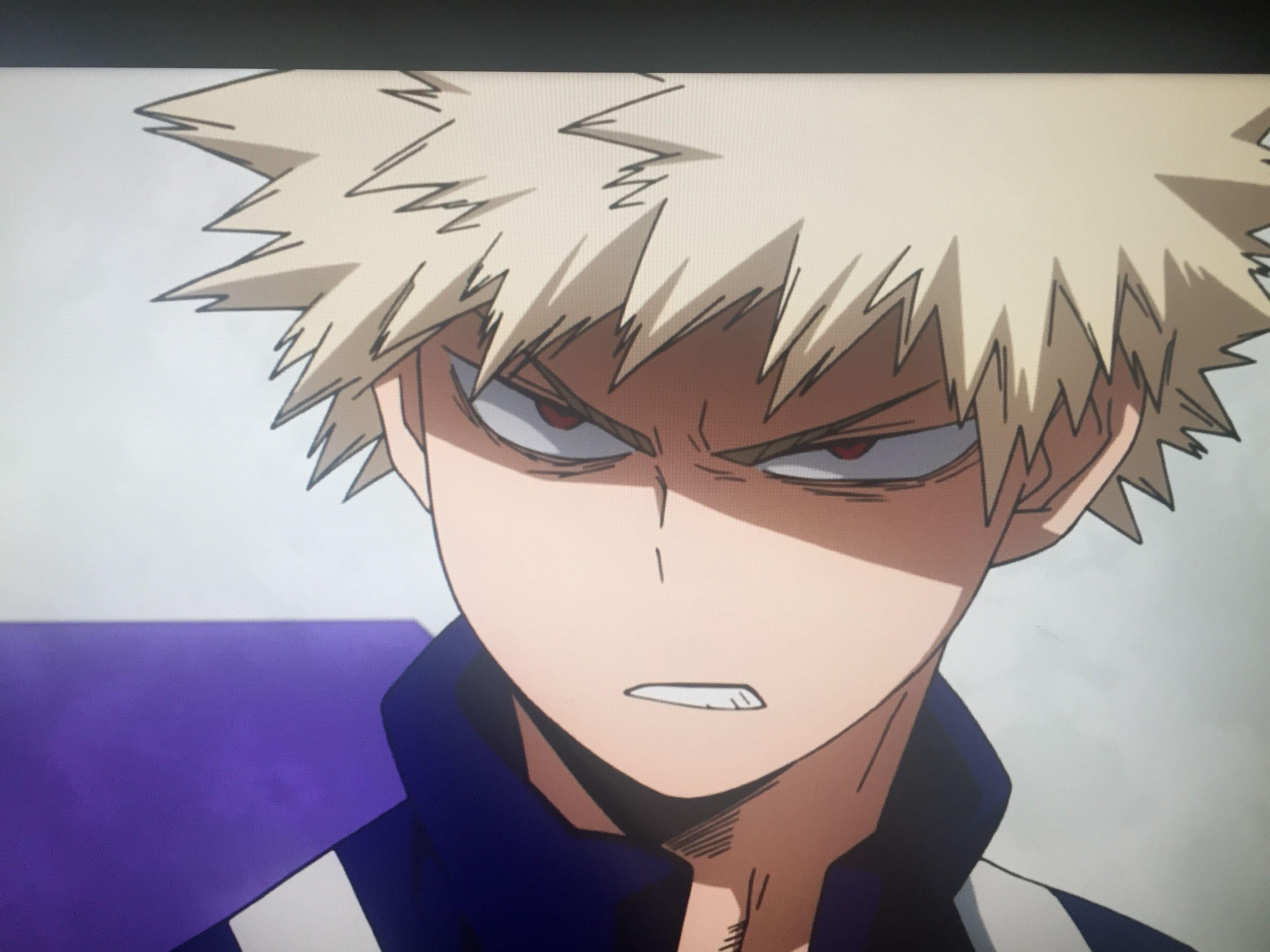 Angry BAKUGO Anime, Manga anime, Hero