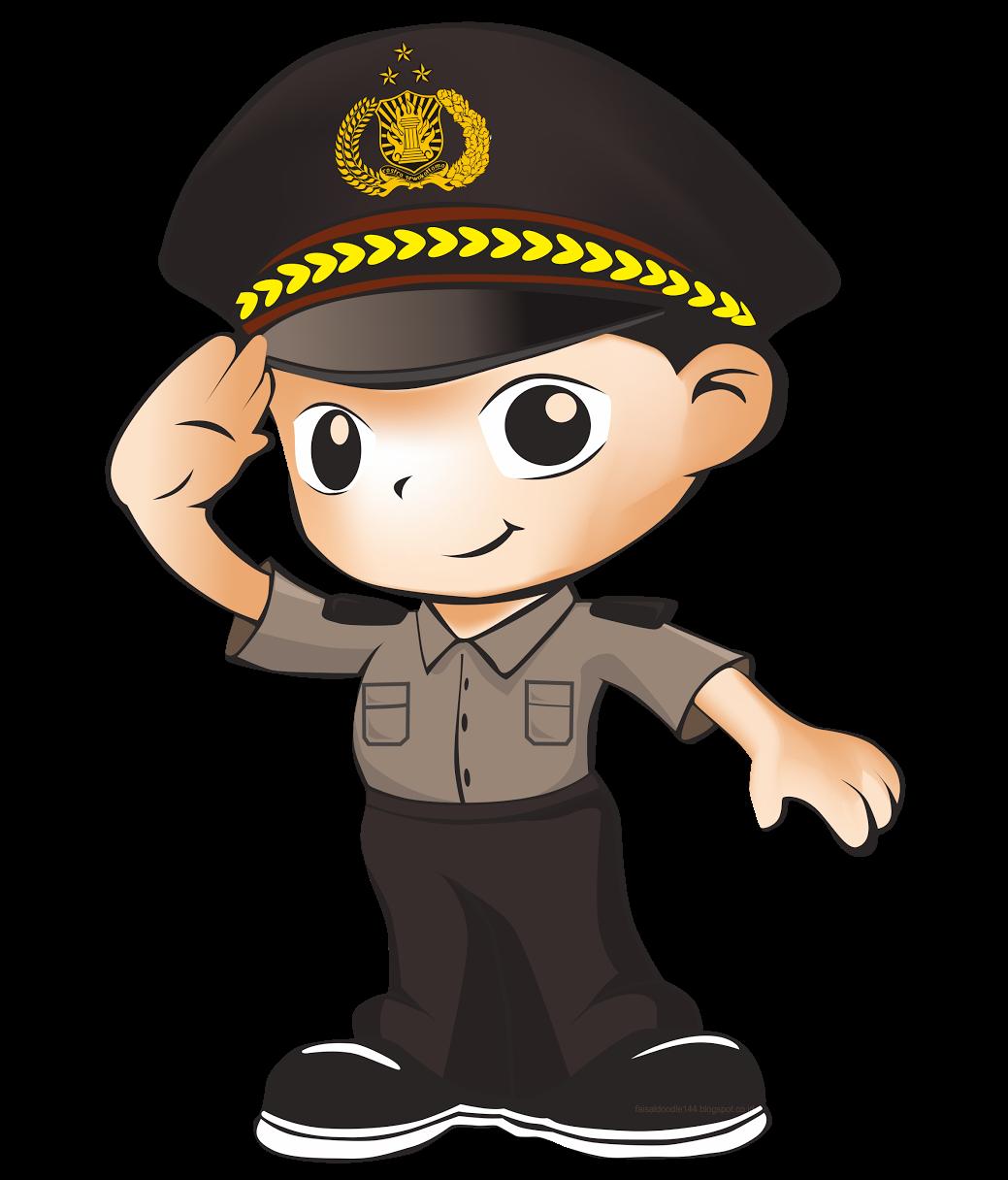 LOGO / MASKOT PROMOTER POLRI Polisi, Pendidikan