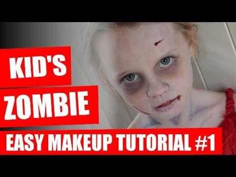 Zombie Makeup For Kids 7 Ghastly Tips Looklikeazombie Com Kids Zombie Makeup Zombie Cheerleader Zombie Halloween Makeup