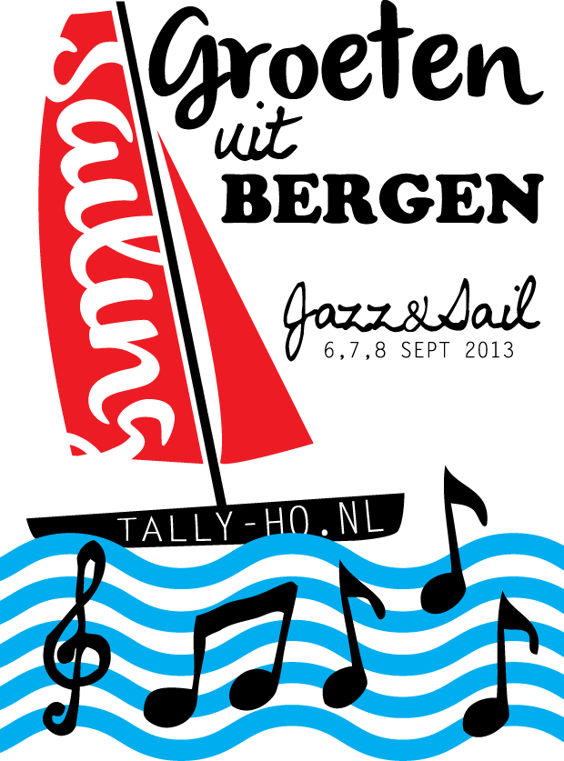 Postkaart Tally-ho