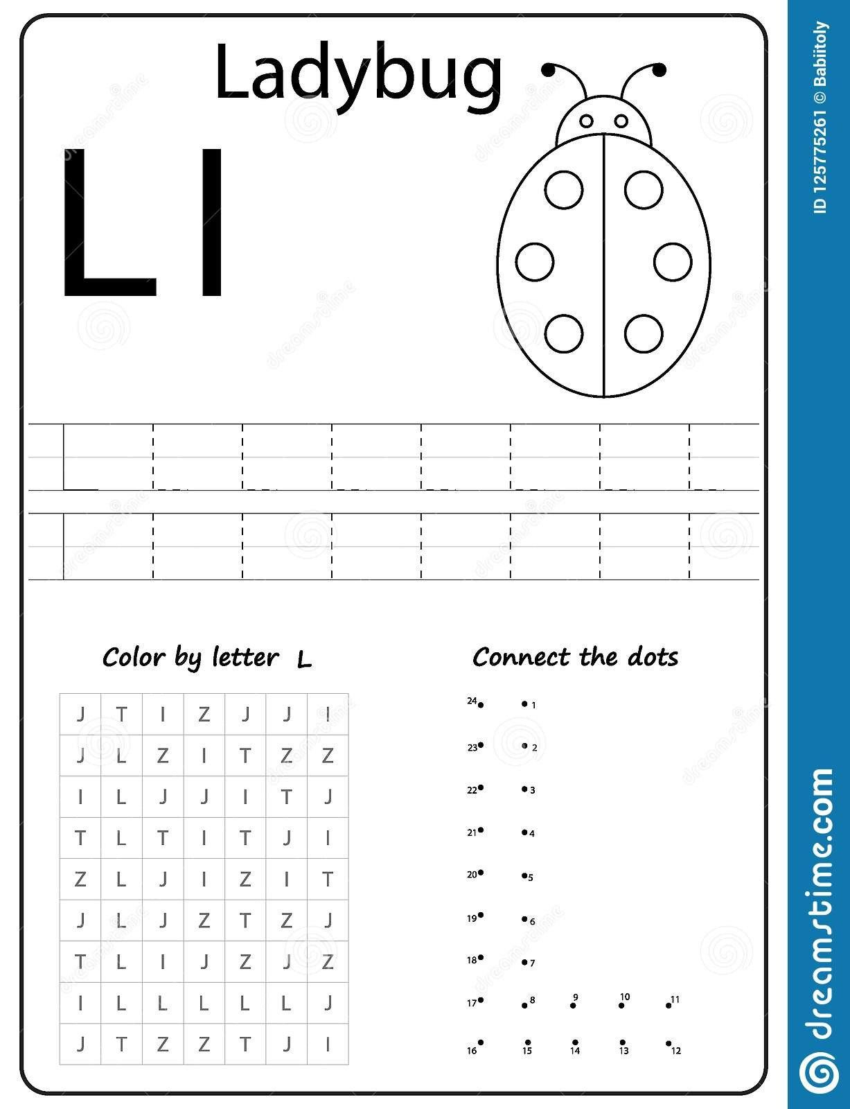 Letter L Worksheets For Preschool Writing Letter L