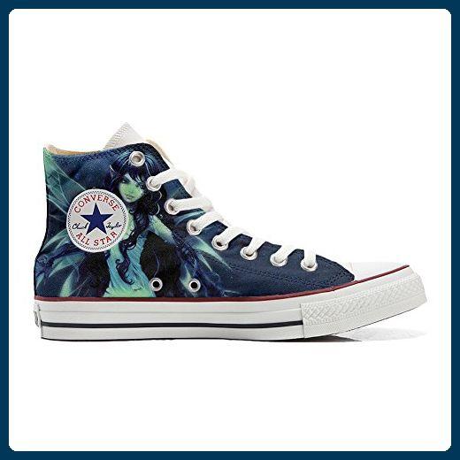 Converse All Star Hi Customized personalisierte Schuhe (Handwerk Schuhe) elf