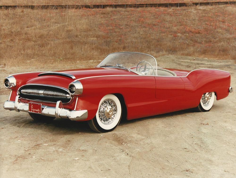 Plymouth's plastic fantastic 1954 Belmont concept c