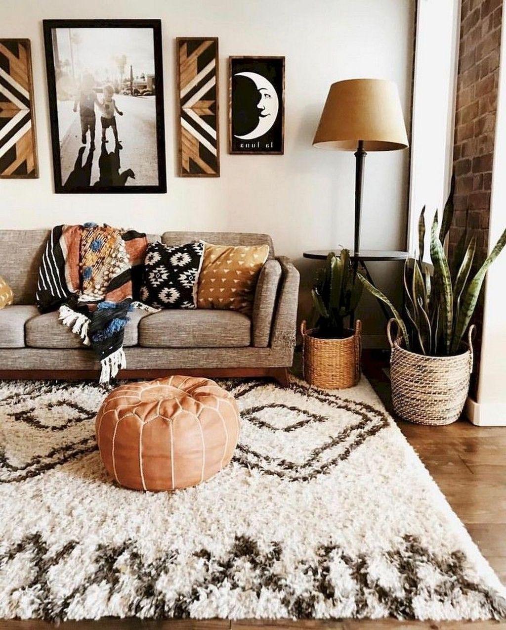 Lovely Boho Chic Apartment Decor Ideas Modern Bohemian Living Room Living Room Decor Apartment Bohemian Living Room Decor