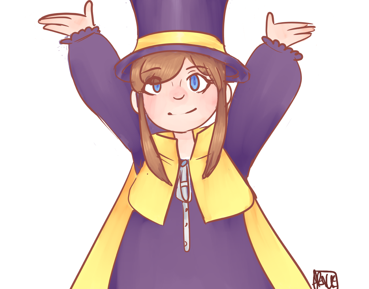Hat Kid A Hat In Time A Hat In Time Princess Zelda Hats