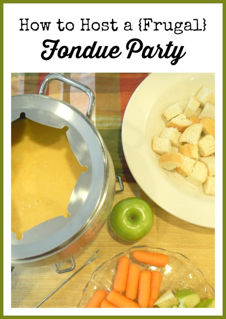 Host a Frugal Fondue Party (Easy Cheese & Chocolate Fondue Recipes #fondueparty Host a Frugal Fondue Party (Easy Cheese & Chocolate Fondue Recipes) - The Coupon Project #fondueparty