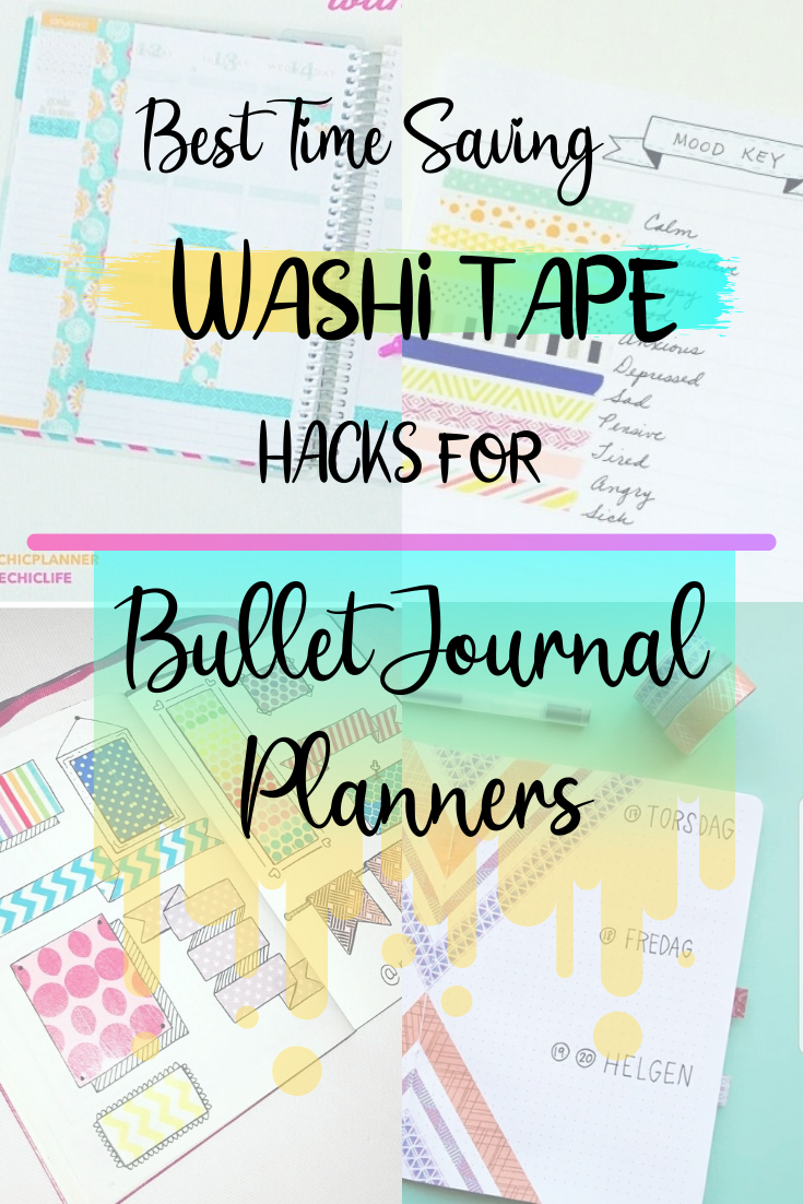 The Best Washi Tape Ideas For Bullet Journals And Planners Learn