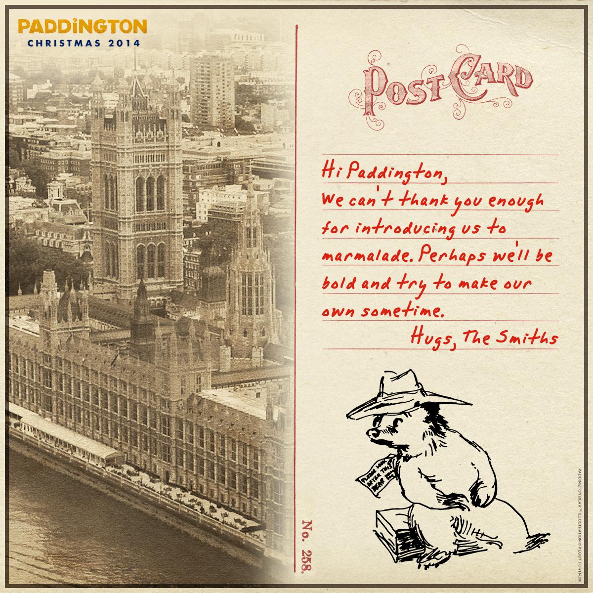 Seems that Paddington isn't the only one who loves marmalade. | Paddington