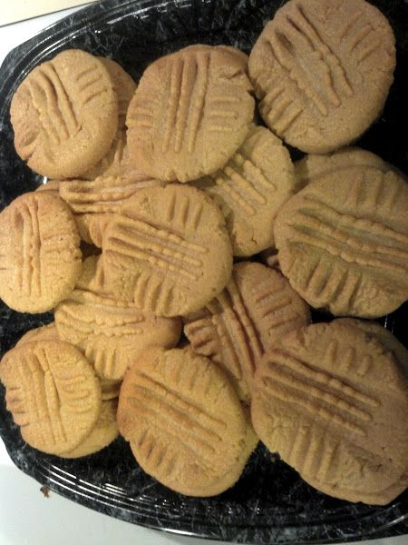 Cake Mix Peanut Butter Cookies!