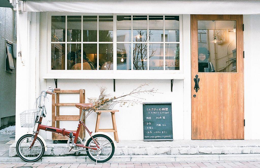 poooL.02 in 2020 Minimalist window, Cafe design, Cafe shop