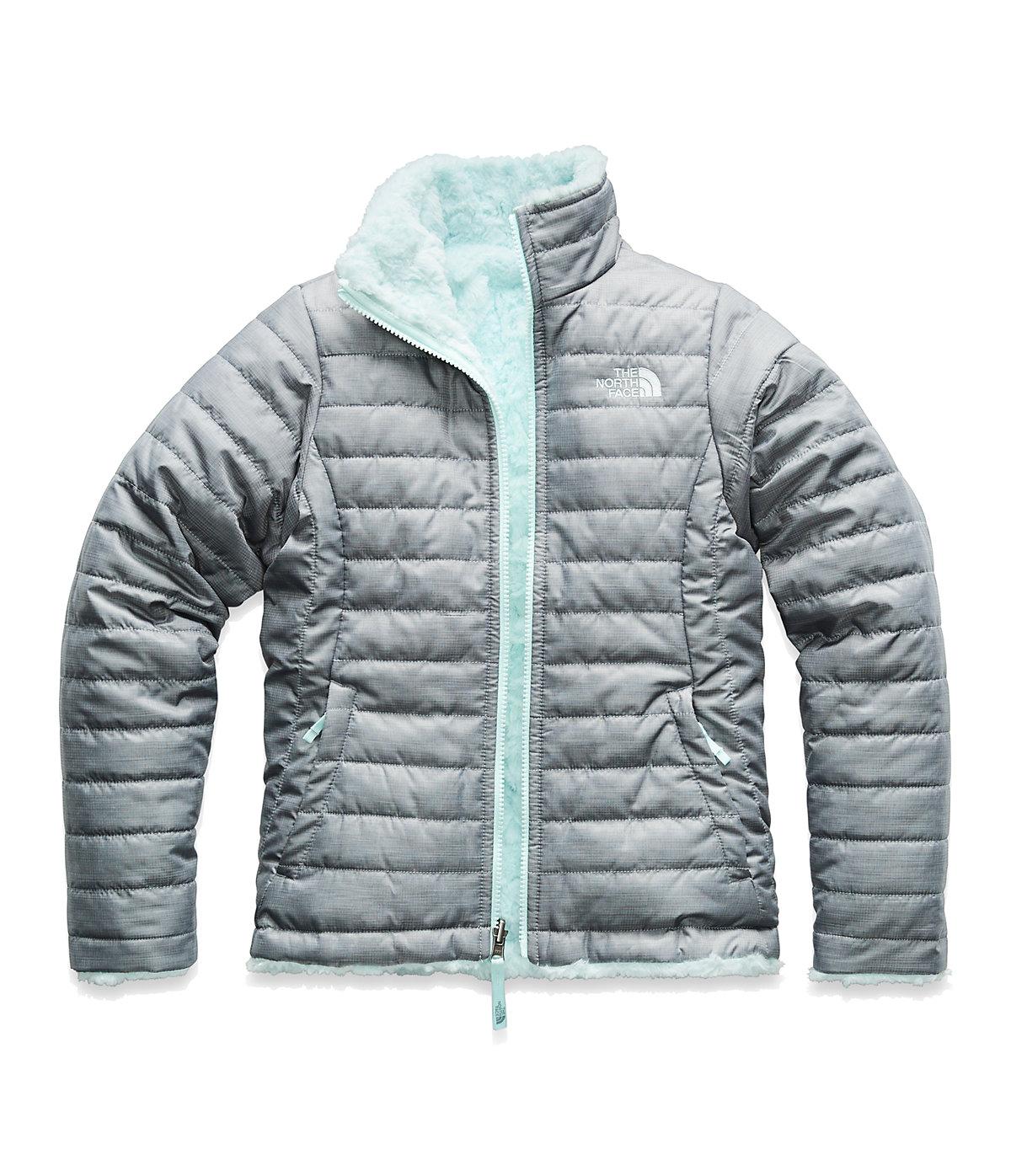 f25f4ecb5ec9 The North Face Girls  Reversible Mossbud Swirl Jacket