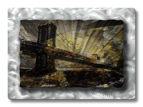 32x23 Golden Gate Bridge Metal Wall Art Modern Home Decor Sculpture Contemporary Hurry Check Out This Great Product