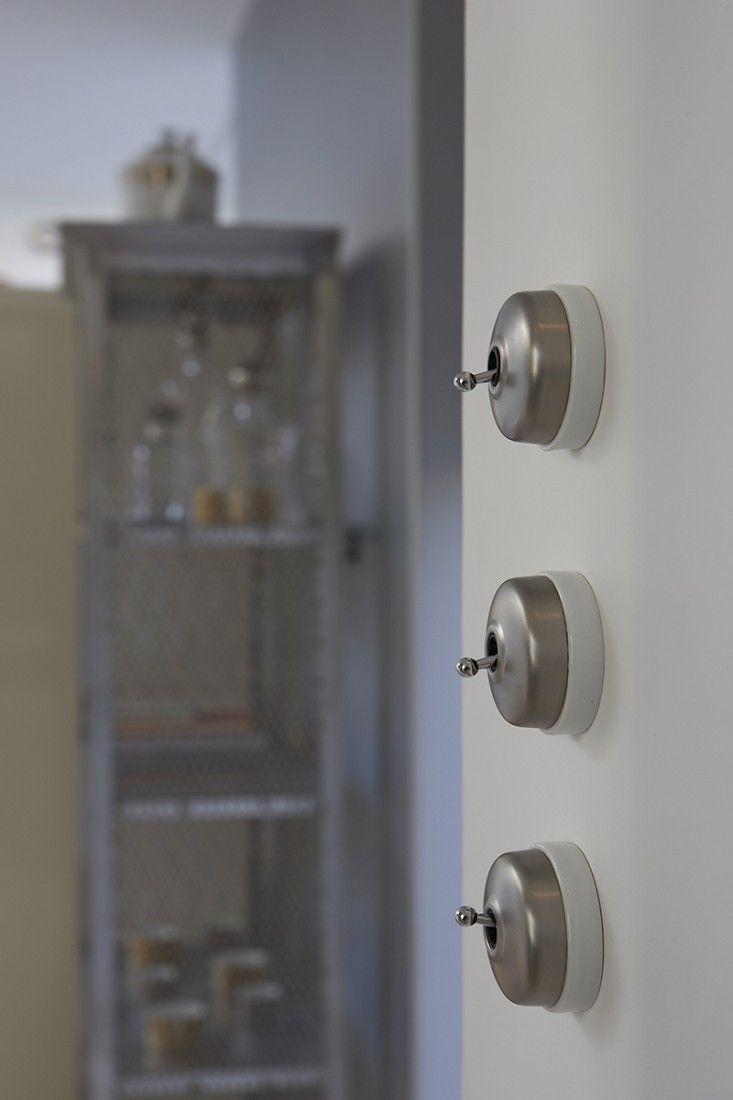 Deux Way Toggle interrupteur de lumière nickel effet
