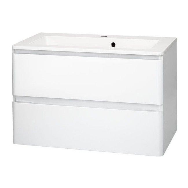Szafka Pod Umywalke Cooke Lewis Madera 60 Cm Biala Pod Umywalke Szafki Meble Lazienkowe Meble Urzadzanie Produkty Cabinet Furniture Filing Cabinet