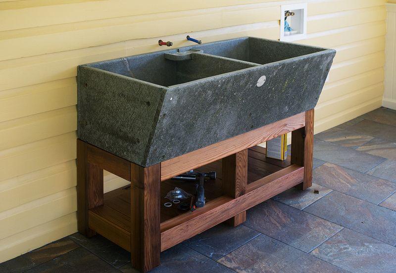 Studio Alberene Soapstone Sink With