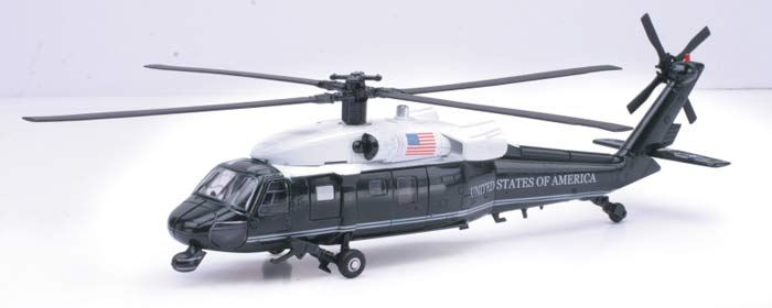 New-Ray Toys 1:48 Sikorsky VH-60 Diecast Model Helicopter