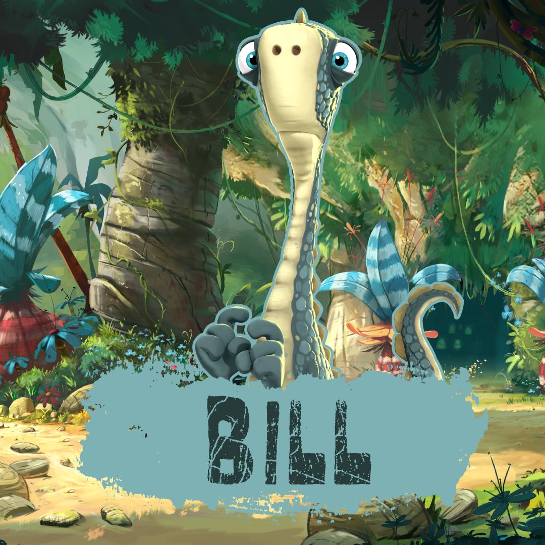 Bill The Less Than Brave Brachiosaurus Gigantosaurus Disney