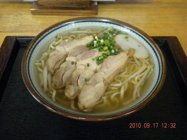 「ゆうなみ」の鶏そば