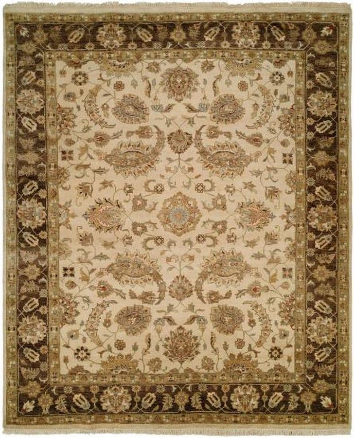 Enhance your interior space with this hand-knotted rug featuring a wool pile and an elegant traditional design.  Dallas Rugs - Your Only Rug Source With Many Resources