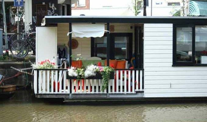 Jordaan Houseboat Prinsengracht Jordaan Houseboat Tiny