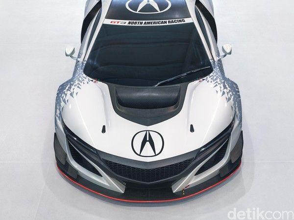 Honda Acura Versi Balapan Gt3 2 Supercars Mobil Balap Mobil