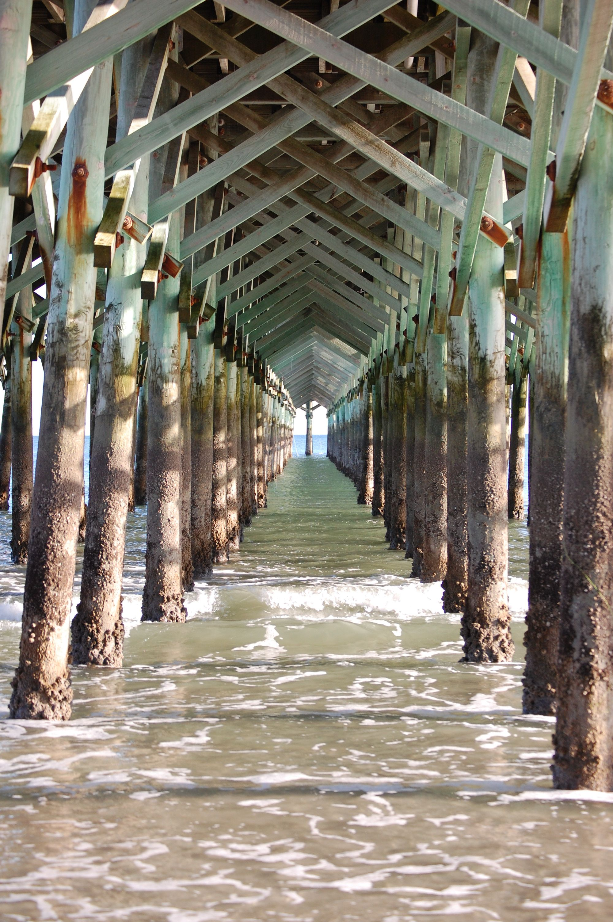 Great picture of a pier in
