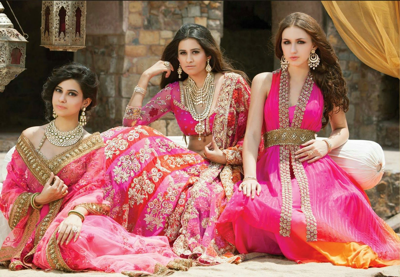 Bridal Wear Inspiration at Bridal Asia - Asian Wedding Ideas ...
