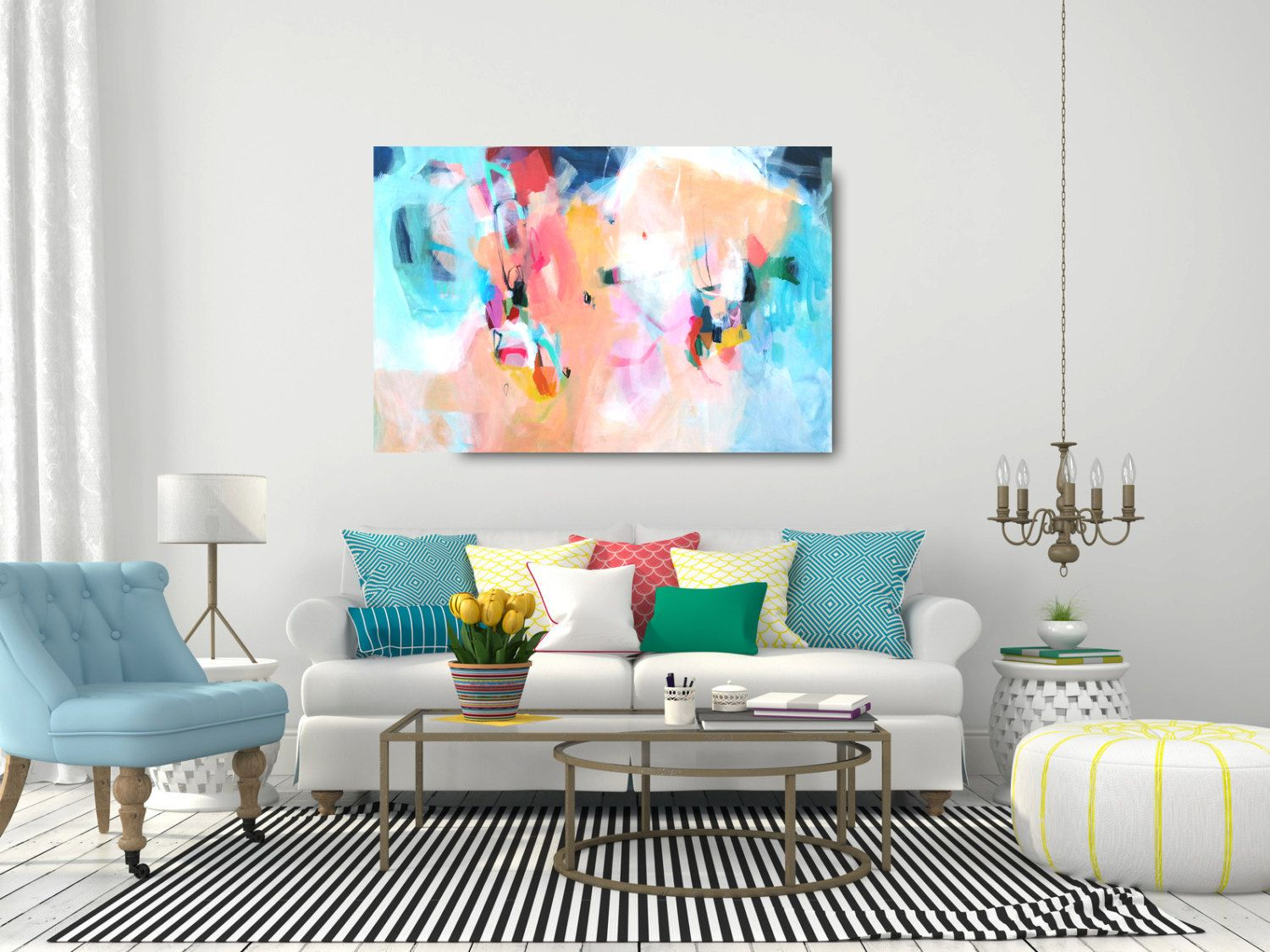 Abstract painting large abstract painting contemporary art