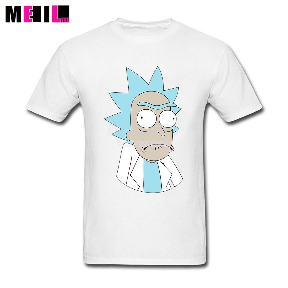 aafe9d6e78b Man s Rick And Morty Rick Big Size Printed T Shirts Buy Online Short-Sleeve  T