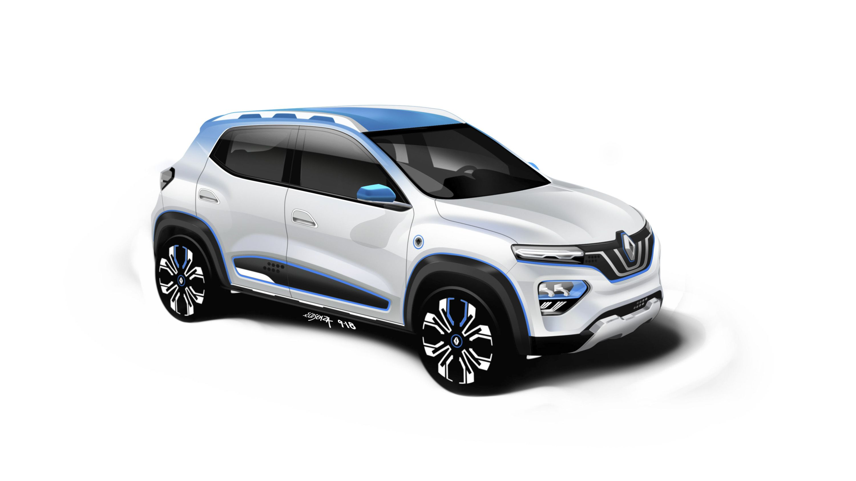 Renault Shows Off A Baby Electric Suv That Goes By The Name K Ze