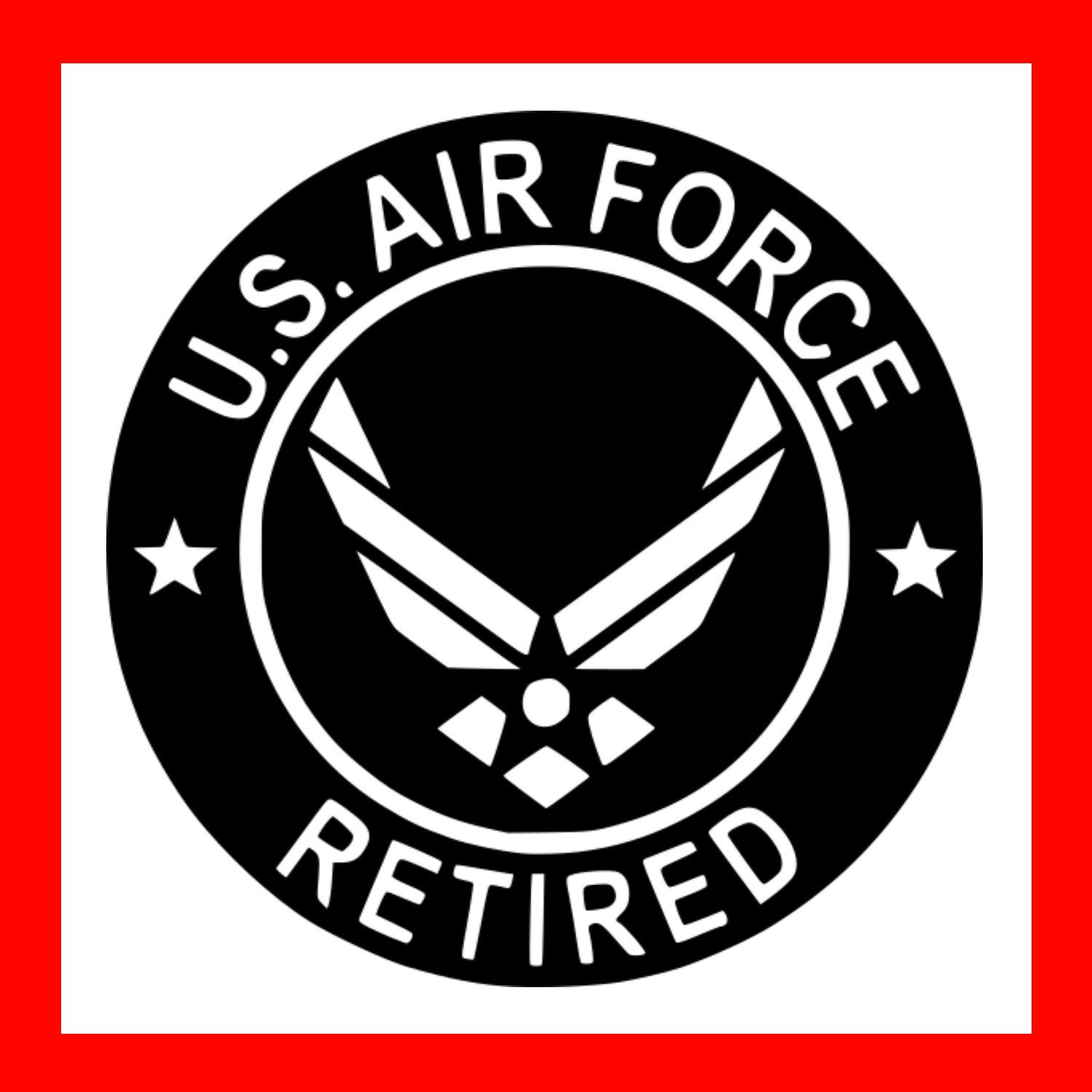 Us Star Insignia 1947 To Present Sticker By Warbirdwear In 2021 Air Force Tattoo Air Force Symbol United States Air Force
