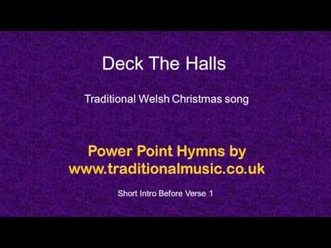 Christmas Carol/Song lyrics with chords for Deck The Halls | Christmas carols songs, Songs ...