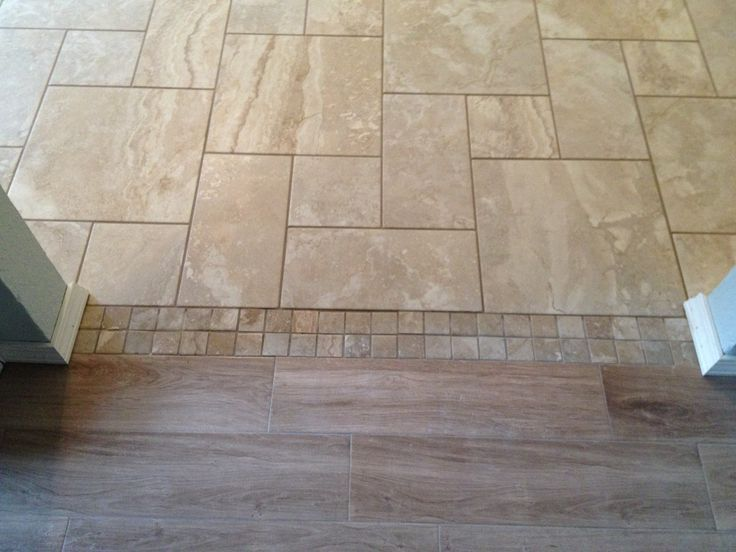 Transitioning Tile From One Room To Another