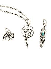 HOTTOPIC.COM - LOVEsick Boho Interchangeable Charm Necklace