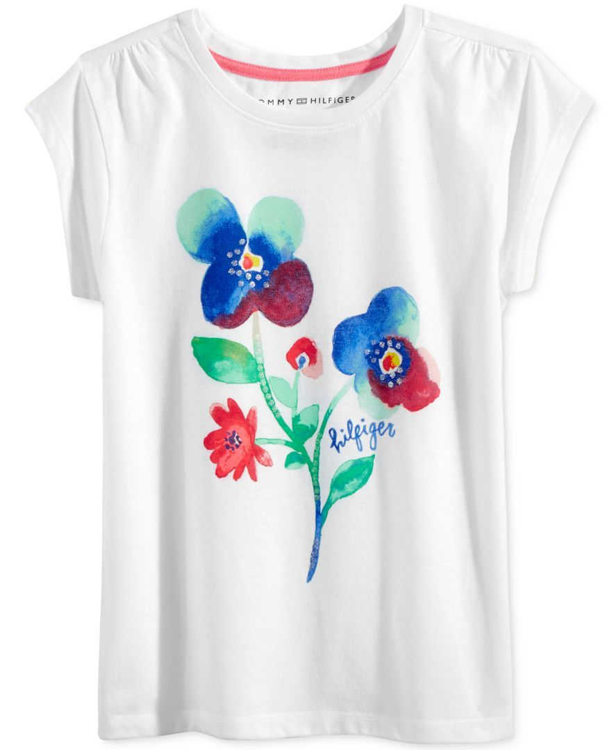 a9bb67d31752 Tommy Hilfiger Graphic T-Shirt, Big Girls (7-16) | Products | Tommy ...