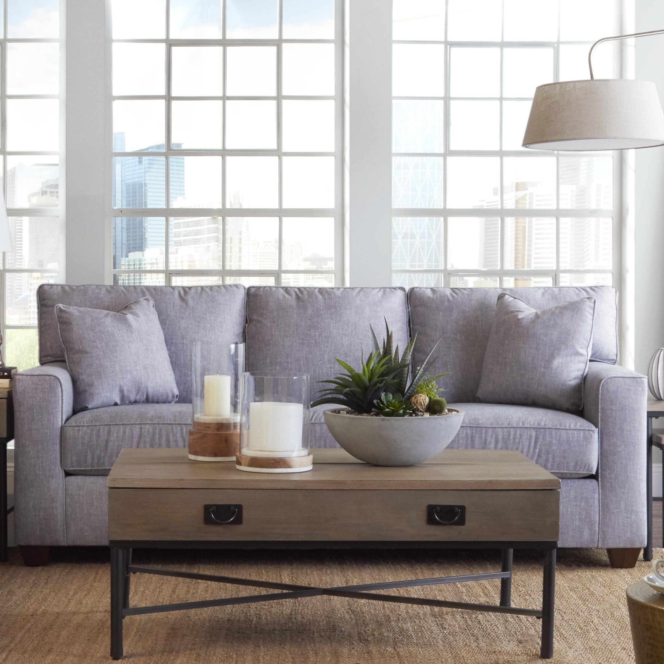 Nolan Queen Enso Memory Foam Sleeper Sofa by Klaussner at