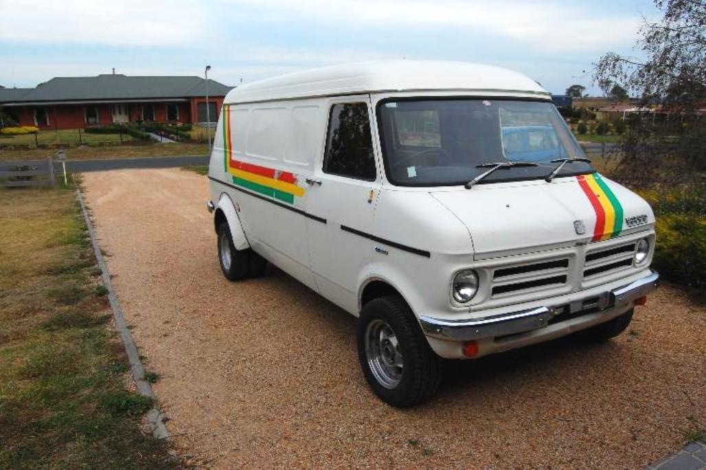 1977 Bedford CF Van | Bedford ...